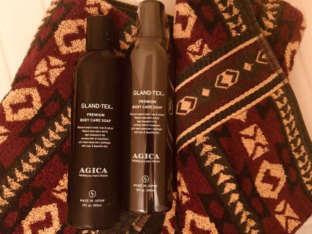 AGICA(アジカ)のボトルはシック