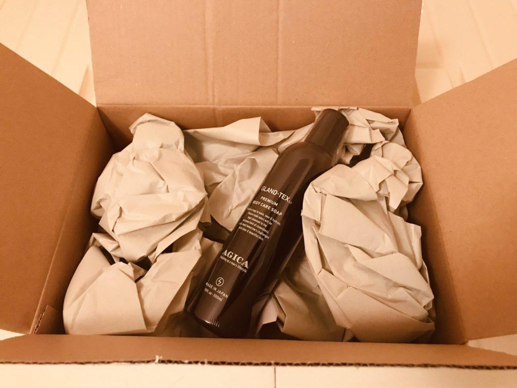 AGICA(アジカ)の商品梱包